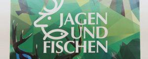 """""""Jagen und Fischen"""" Messe-Plakat"""