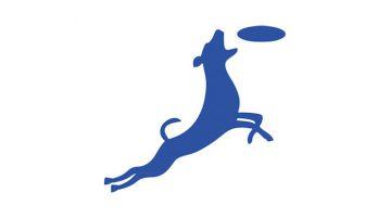 Silhouette Hund Frisbee