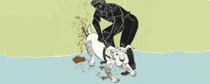 Zeichnung Durchfall Hund