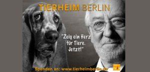 Plakat für Tierheim Berlin