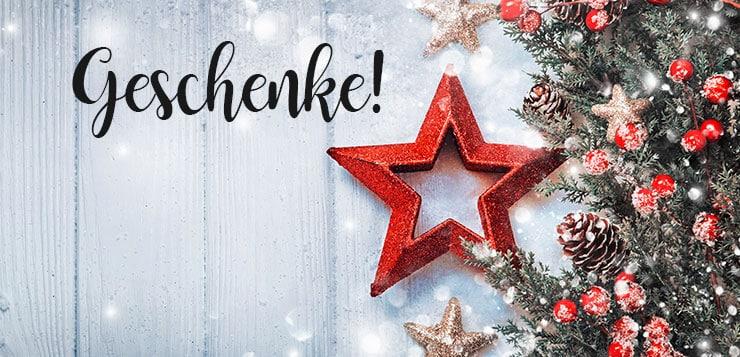 Weihnachtsverlosung: 13 tolle Produkte zu gewinnen