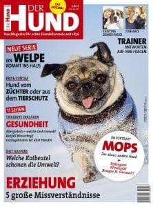 Cover von DER HUND Ausgabe 3/18