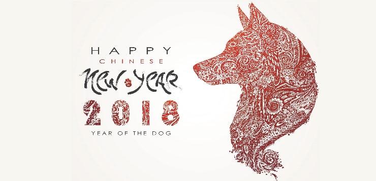 Chinesisches Neujahrsfest: 2018 ist das Jahr des Hundes