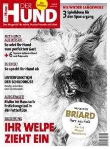 Cover DER HUND, Ausgabe 6/18