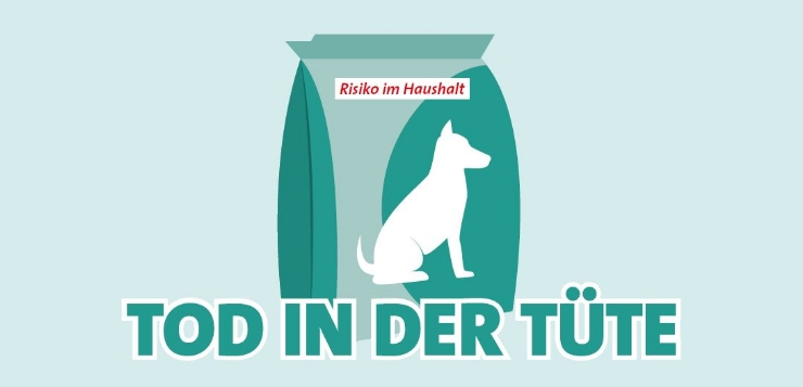 Tüten sind gefährlich für Hunde