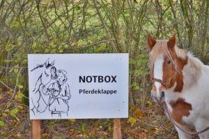 Notbox, Pferdeklappe Schleswig-Holstein