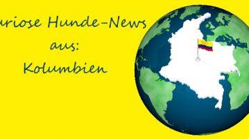 Globus, auf dem Kolumbien hervorgehoben ist