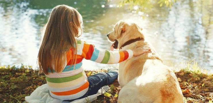 Hunde sind die besseren Geschwister