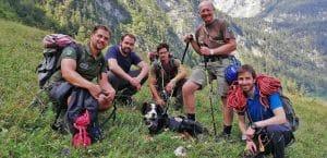 vermisster Hund in Bergen gerettet