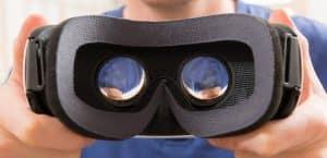 Brille, virtuelle Realität