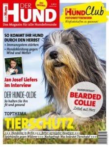 Cover Ausgabe 11/18 DER HUND