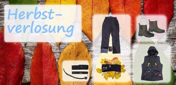 Verlosung: Ausrüstung für den Herbst
