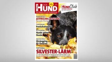 Cover DER HUND Ausgabe 12/2018