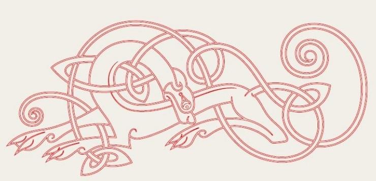 Keltischer Hund
