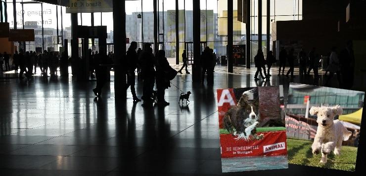 Eingangsbereich der Messe Stuttgart