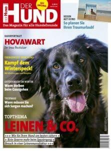 Ausgabe 3/19 von DER HUND, auf dem Cover ist ein Hovawart zu sehen