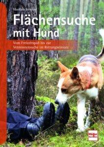 Cover des Buchs Flächensuche mit Hund von Martina Stricker