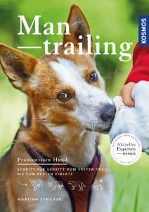 Cover des Mantrailing-Buchs von Martina Stricker