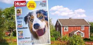 """Cover des Sonderhefts """"Urlaub mit Hund"""" von DER HUND"""