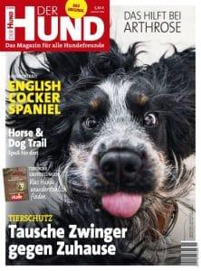 Cover DER HUND mit Narcos dem Cocker Spaniel