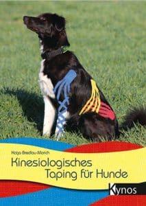 """Das Buchcover von """"Kinesiologisches Taping für Hunde"""" von Katja Bredlau-Morich"""