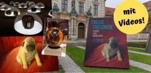 Hundeausstellung im Bayerischen Nationalmuseum