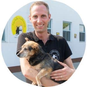 Matthias Schmidt, Leiter des Vereins Tierhilfe Hoffnung