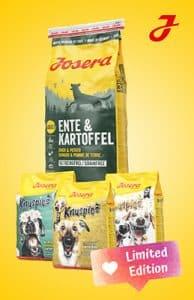 Snackfluencer Josera Ente & Kartoffel
