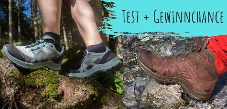 Haix Black Eagle Adventure und Nature Schuhe