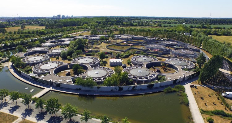 Luftaufnahme des Tierheims Berlin