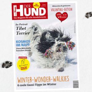 Cover der Februar-Ausgabe 2021 von DER HUND