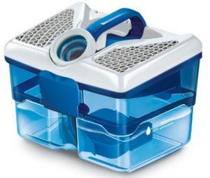 Die Aqua-Filterbox im AQUA+ Pet & Family ParquetPro