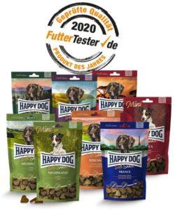 Gewinne SoftSnacks von Happy Dog