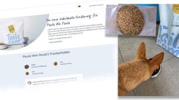 DER HUND testet tails.com-Futter
