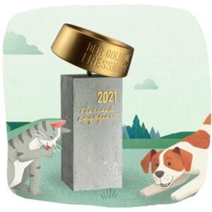 Tierschutz-Preis Goldener Fressnapf
